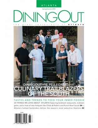 Featured in DiningOut Atlanta Magazine