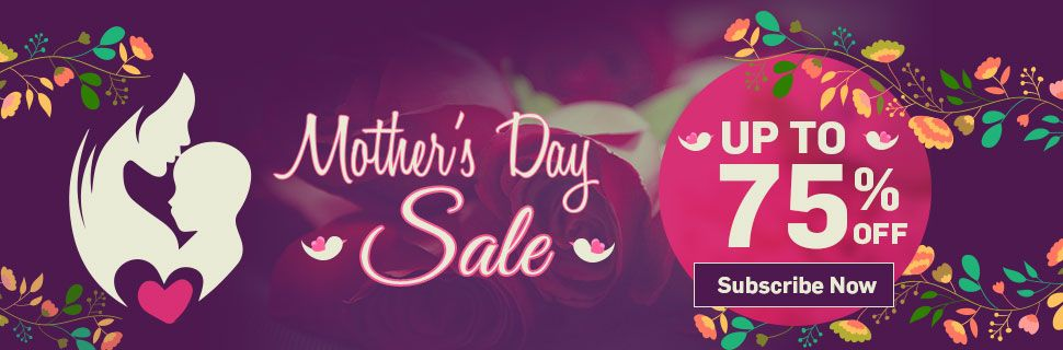 Mothers day Sale - Up TO 75% OFF