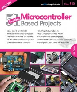 Micro Controller Based Projects 2nd Edition