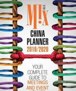 Mix China Planner English