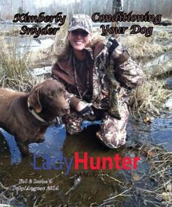 Lady Hunter Magazine