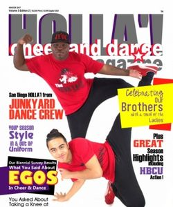 HOLLA'! Cheer and Dance Magazine