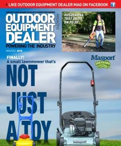 Outdoor Equipment Dealer Magazine