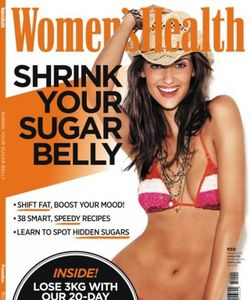 Women's Health Shrink Your Sugar Belly