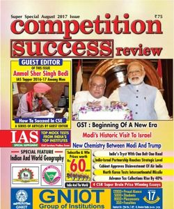 competition success review magazine essays