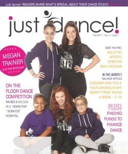 just dance! magazine