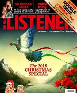 New Zealand Listener Magazine January 5