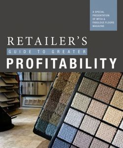 Retailer's Guide to Greater Profitability