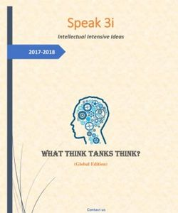 Speak 3i - Intellectual Intensive Ideas