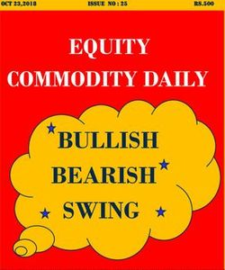 EQUITY COMMODITY DAILY