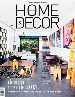home amp decor singapore magazine january 2015 issue get your