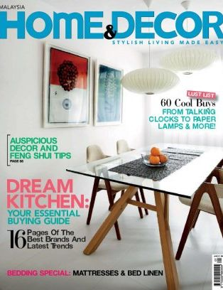 Home Decor Malaysia Magazine January 2012 Issue Get Your Digital Copy