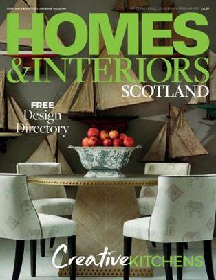 Homes U0026 Interiors Scotland   January   February 2019
