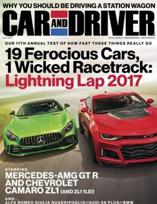 Car And Driver October 2017