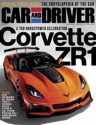 Car And Driver December 2017