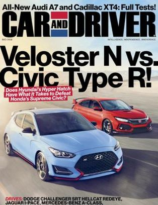 Car And Driver December 2018