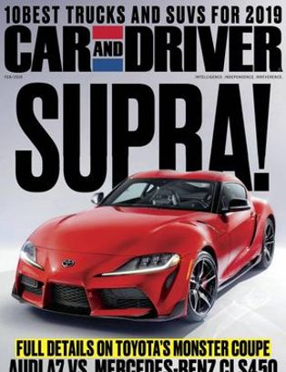 Car And Driver February 2019