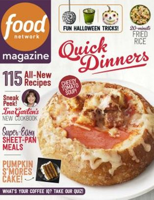 Food Network Magazine October 2018 Issue Get Your Digital Copy