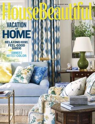 House Beautiful Magazine July August 2018 Issue Get Your Digital