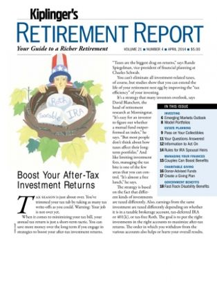kiplingers retirement report magazine get your digital subscription