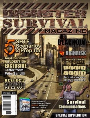 Disaster Survival Magazine - Get your Digital Subscription