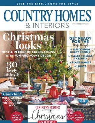 Country Homes Amp Interiors Magazine December 48 Issue Get Classy Country Homes And Interiors Subscription