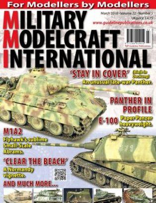 Military Modelcraft International Magazine March 2018 issue