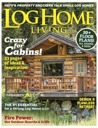 Bon Log Home Living Magazine April 2017 Issue U2013 Get Your Digital Copy