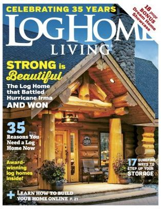 Ordinaire Log Home Living Magazine February 2018 Issue U2013 Get Your Digital Copy