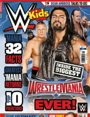 WWE Kids Magazine Issue 105 issue – Get your digital copy