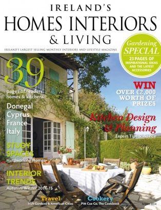 ireland s homes interiors amp living magazine august 2014 issue
