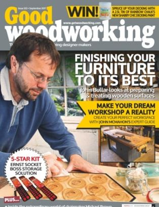 Good Woodworking Magazine September 2017 Issue Get Your Digital Copy