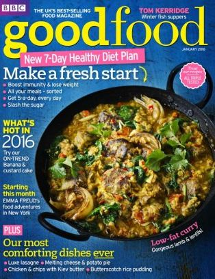Bbc Good Food Uk Magazine January 2016 Issue Get Your Digital Copy