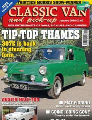 7b23de7fd7 Classic Van  amp  Pick Up Magazine January 2016 issue – Get your digital  copy
