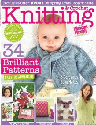 Knitting Amp Crochet From Womans Weekly Magazine April 2018 Issue