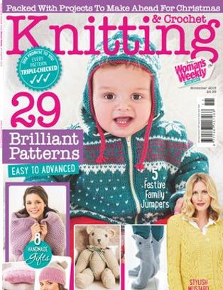 Knitting Crochet From Womans Weekly Magazine Get Your Digital