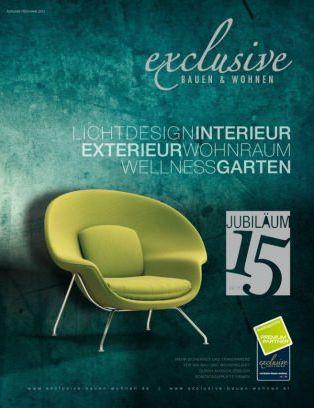Exclusive Bauen Amp Wohnen Magazine Ausgabe Frühjahr 2015 Issue