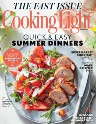 Attractive Cooking Light Magazine August 2017 Issue U2013 Get Your Digital Copy Nice Look