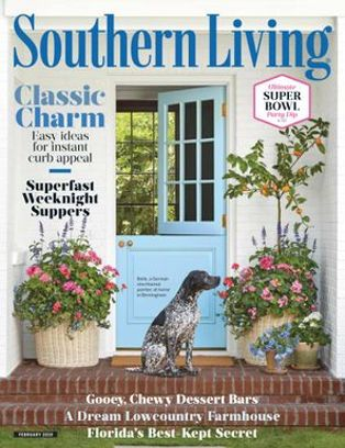 Details about Southern Living - Classic Charm ~ February 2019 Magazine