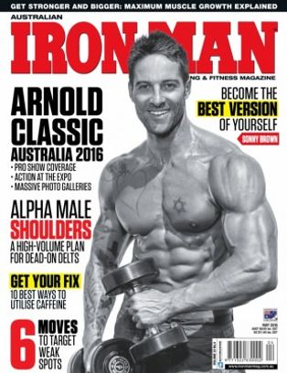 d6af756eadb Australian Iron Man Magazine May 2016 issue – Get your digital copy