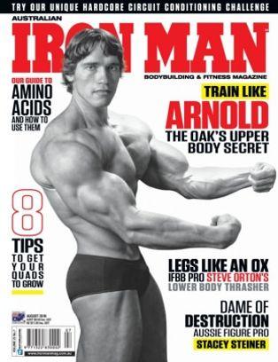 62a199e7cf6 Australian Iron Man Magazine August 2016 issue – Get your digital copy