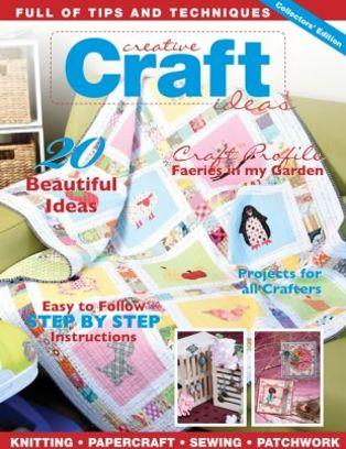 Creative Craft Ideas Magazine Vol 1 Issue No 1 2016 Issue Get Your