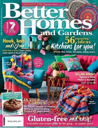 Better Homes U0026amp; Gardens Australia Magazine April 2017 Issue U2013 Get Your  Digital Copy
