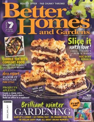 Attrayant Better Homes U0026amp; Gardens Australia Magazine August 2017 Issue U2013 Get Your  Digital Copy