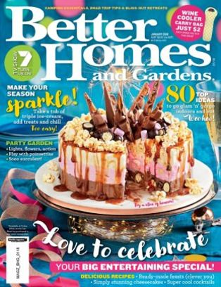 Genial Better Homes U0026amp; Gardens Australia Magazine January 2018 Issue U2013 Get Your  Digital Copy
