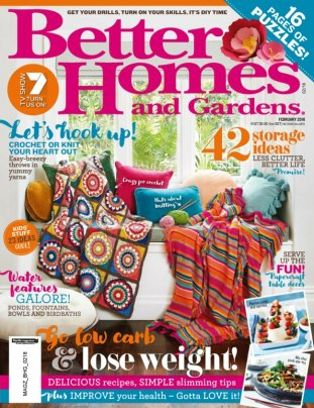 Better homes gardens australia magazine february 2018 Bhg australia