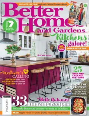 Better Homes U0026amp; Gardens Australia Magazine April 2018 Issue U2013 Get Your  Digital Copy