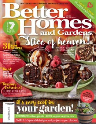 Better Homes U0026amp; Gardens Australia Magazine May 2018 Issue U2013 Get Your  Digital Copy