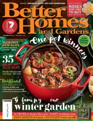Better Homes U0026amp; Gardens Australia Magazine July 2018 Issue U2013 Get Your  Digital Copy