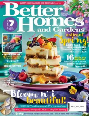 Better Homes U0026amp; Gardens Australia Magazine October 2018 Issue U2013 Get Your  Digital Copy